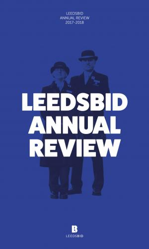 LeedsBID annual review cover image