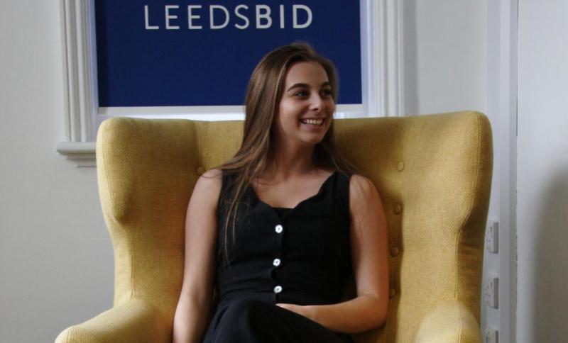 Sophie at LeedsBID